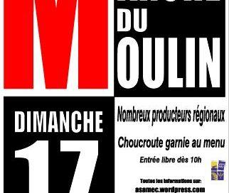 Week-end prochain : Marché du Moulin