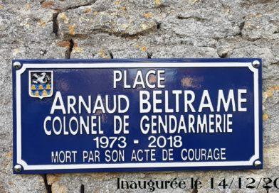 Inauguration de la place Arnaud BELTRAME