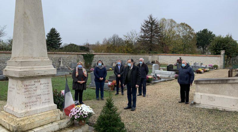 La cérémonie du 11 novembre en configuration restreinte
