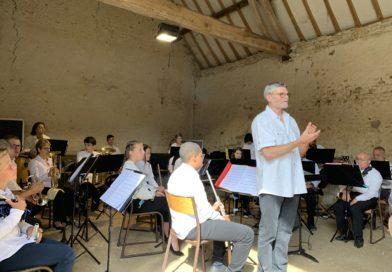 L'école de musique des Terres Puiseautines a joué au Moulin de Châtillon